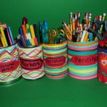 Upcycled Organizers for Your Office