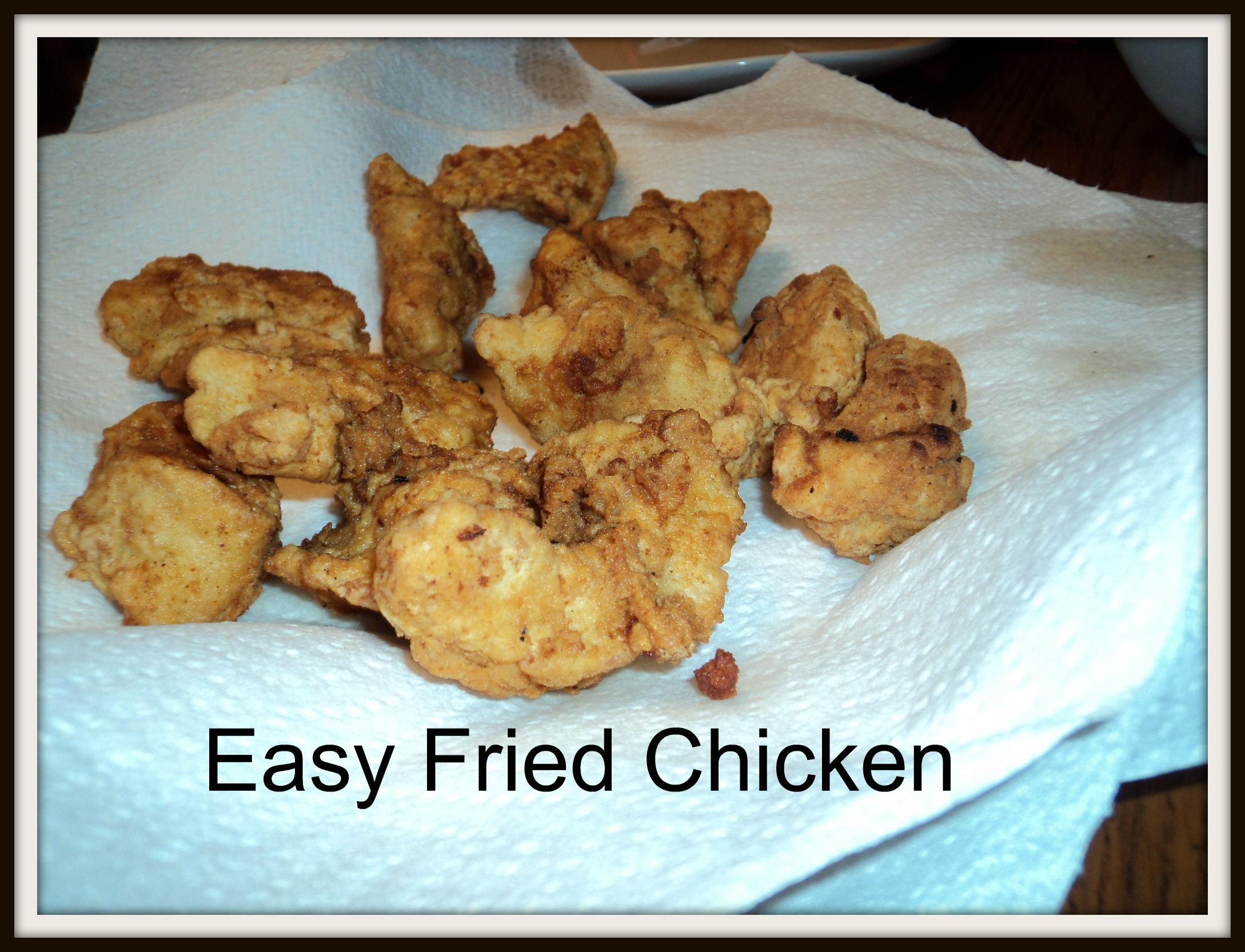 Supermom's Fried Chicken Nuggets - ThirtySomethingSuperMom