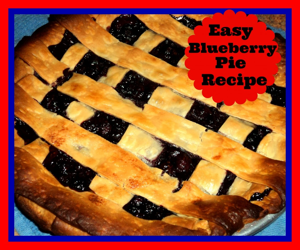 how to make blueberry pie with frozen crust