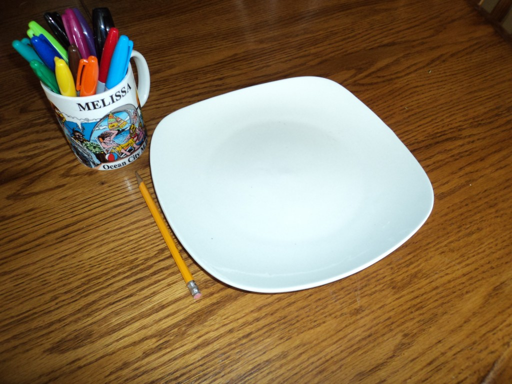 DIY Plate Design Craft