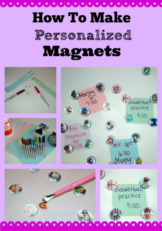 Personalized Magnet Craft