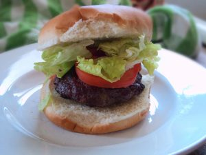 Venison Burgers on the Grill