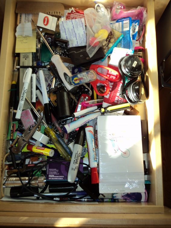 Organize your junk drawer for $1
