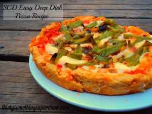 Homemade SCD Deep Dish Pizza