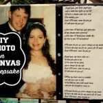 DIY Photo Canvas Keepsake