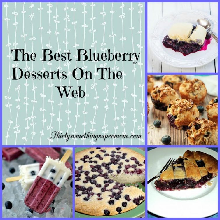 best blueberry desserts