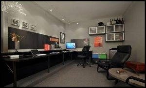 Garage Office Makeover