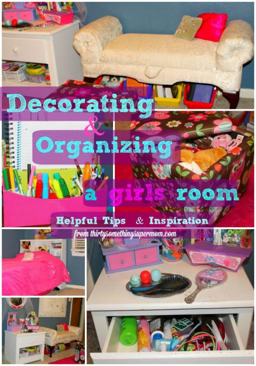 Decorating & organizing