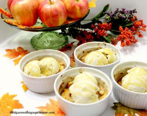 Guilt Free Desserts: Apples & Cream