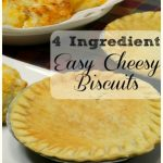 4 Ingredient Easy Cheesy Biscuits