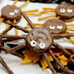 Halloween Cookies: Chocolate Peanut Butter Spiders