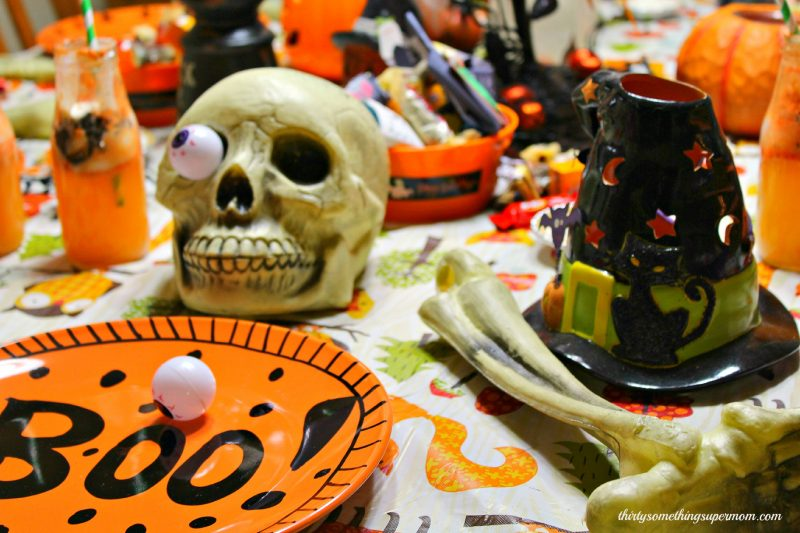 Halloween Tablescape 1