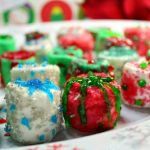 DIY Food Gifts Chocolate Marshmallow Ornaments