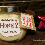 DIY Honey Hair Mask Gift
