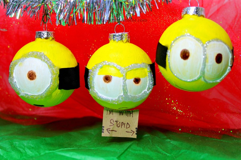 DIY Minions Ornaments Christmas Decorations