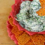 Easy Cheese Crackers and How to Make Spinach Dip