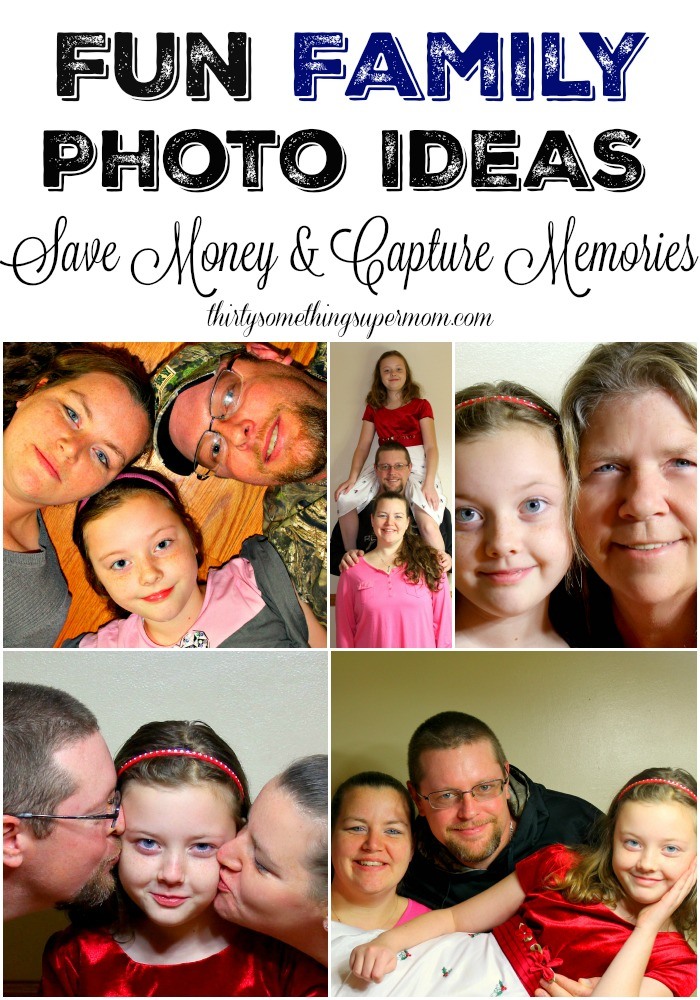 These fun poses for the family will be great to create a gallery wall or send gifts.