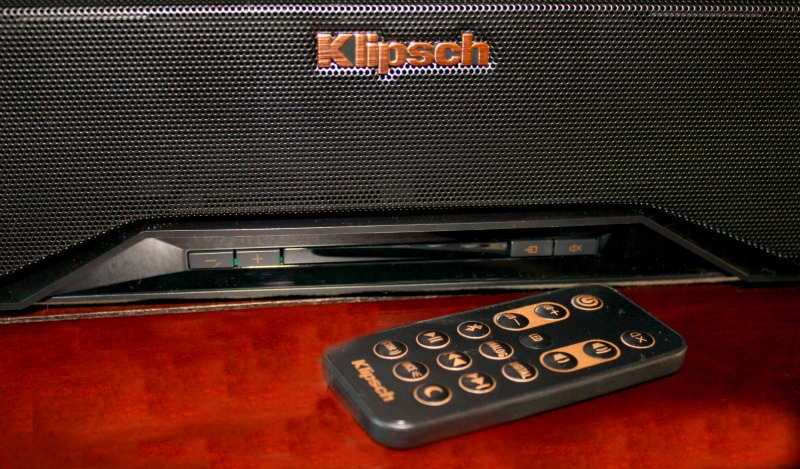 Klipsch virtual surround sound saves space and delivers quality