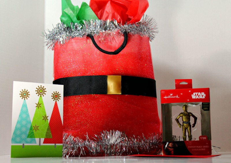 DIY Santa Gift Bag Tutorial