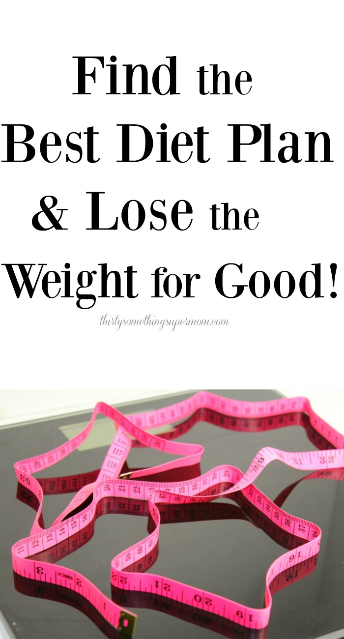 Find the Best Diet Plan & Lose the Weight For Good
