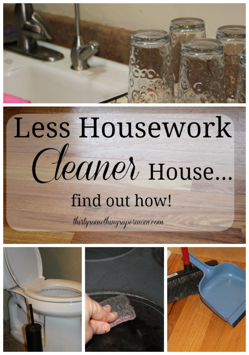 This woman has less household chores than before but has a cleaner home. One purchase chaged her life and now she has tons of relaxation time.