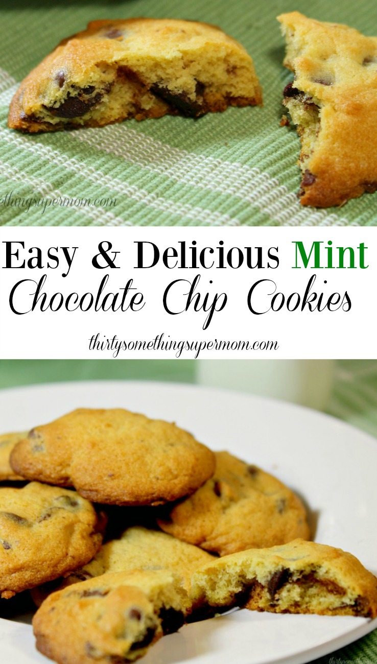how to make mint cookies