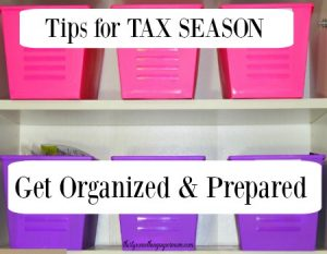 How to Prepare & Get Organized for Tax Season