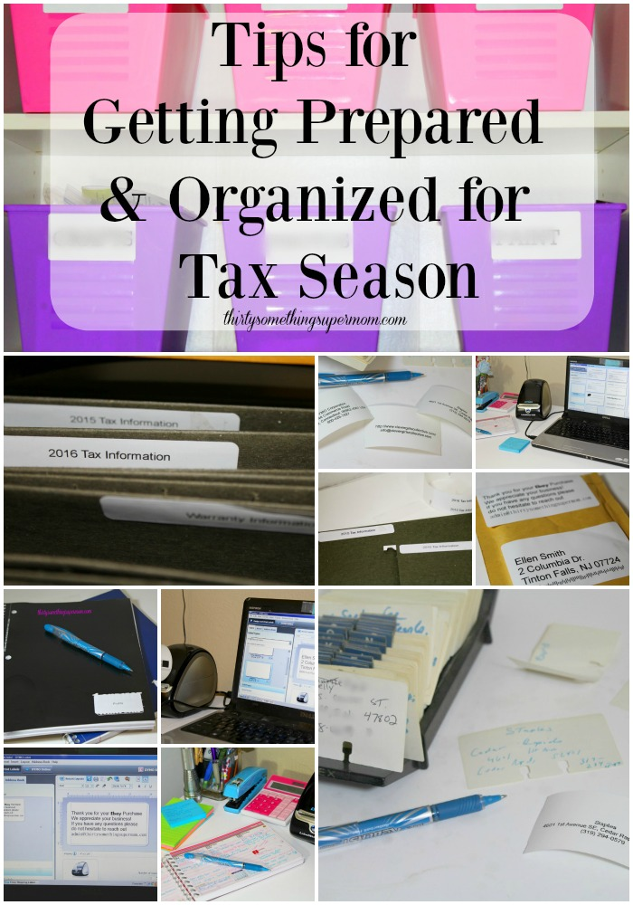 These tips for tax season prep are a great way to get organized and prepare the right way.