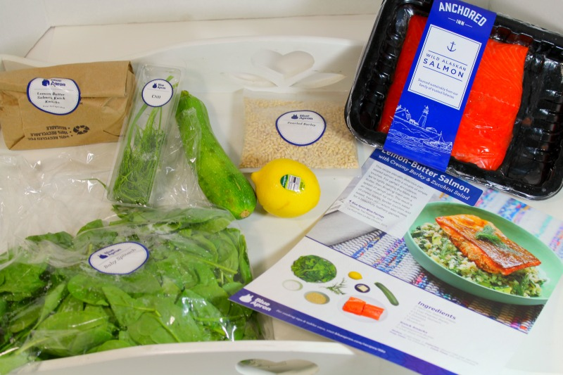 Blue Apron Gourmet Cooking at Home
