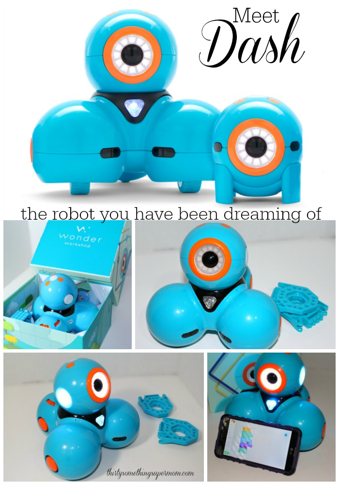 The new Dash robot is the robot you have been dreaming of!