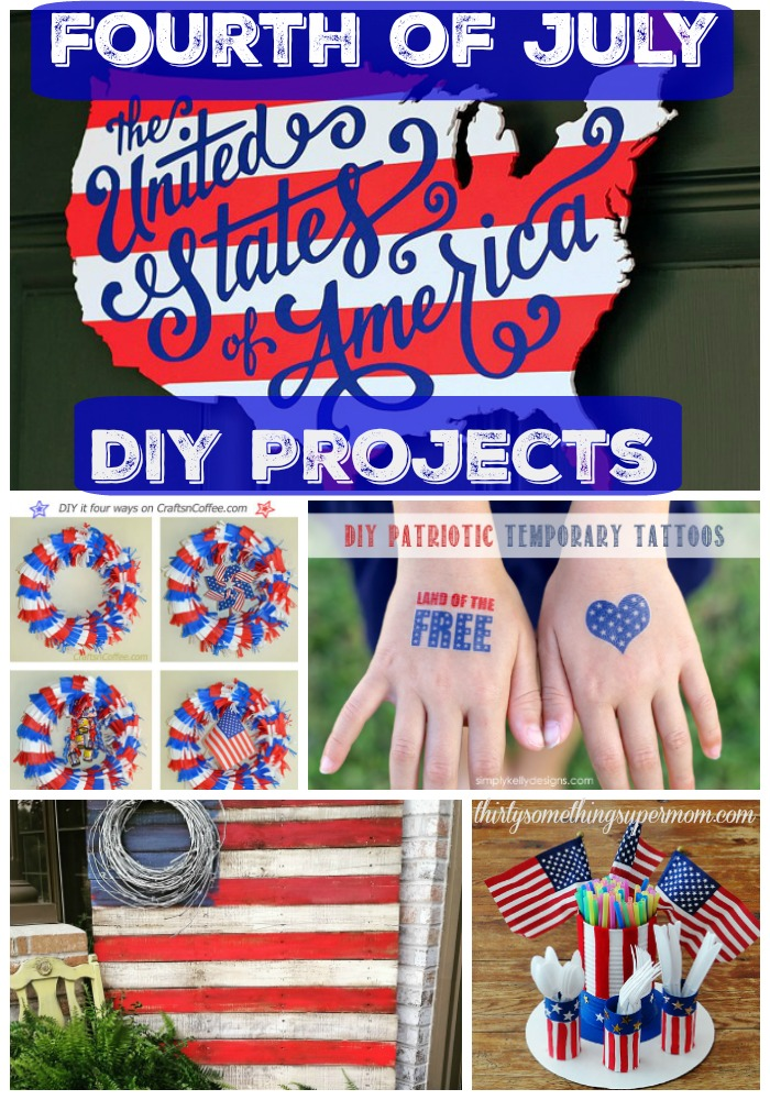 Fourth of July DIY projects that are fun and plenty patriotic!