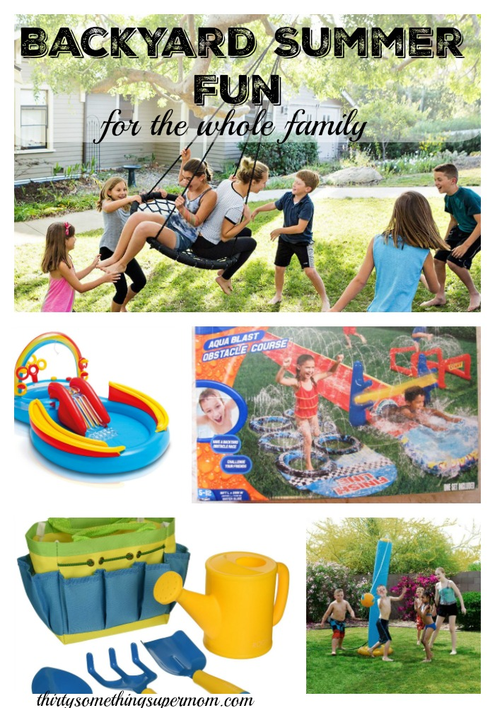 These Summer fun ideas are perfect for any backyard.