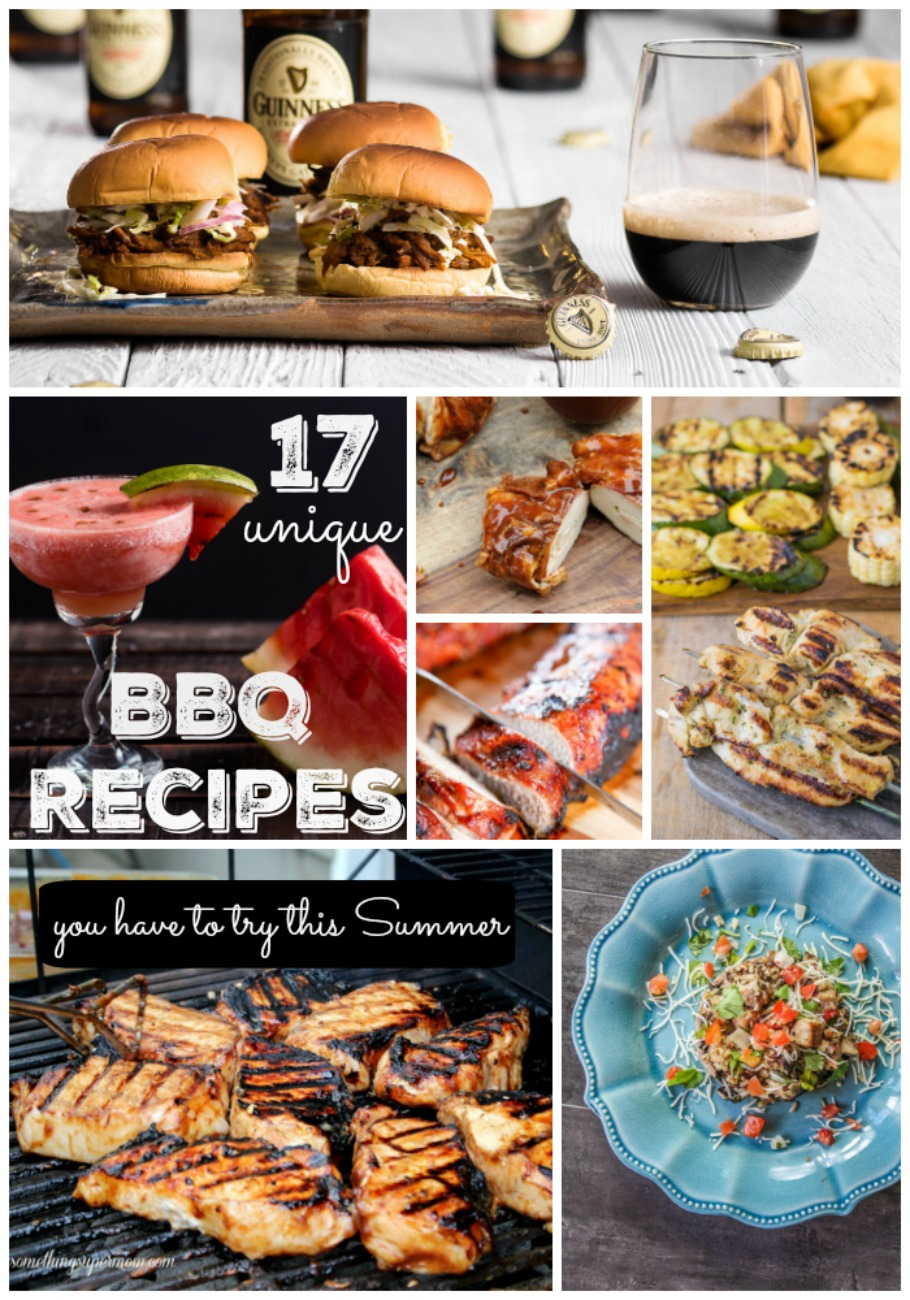 These barbecue recipes are so unique and look delicious!
