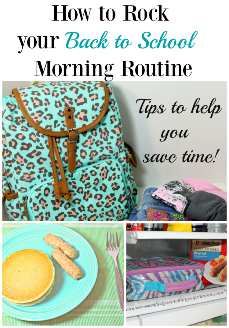 Tips and tricks to help you rock your back to school morning routine.