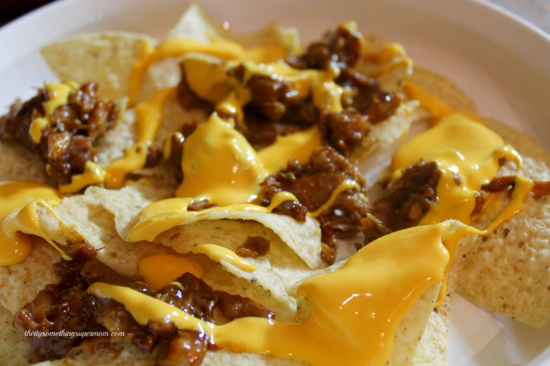 This bbq pulled pork nachos recipe is perfect.