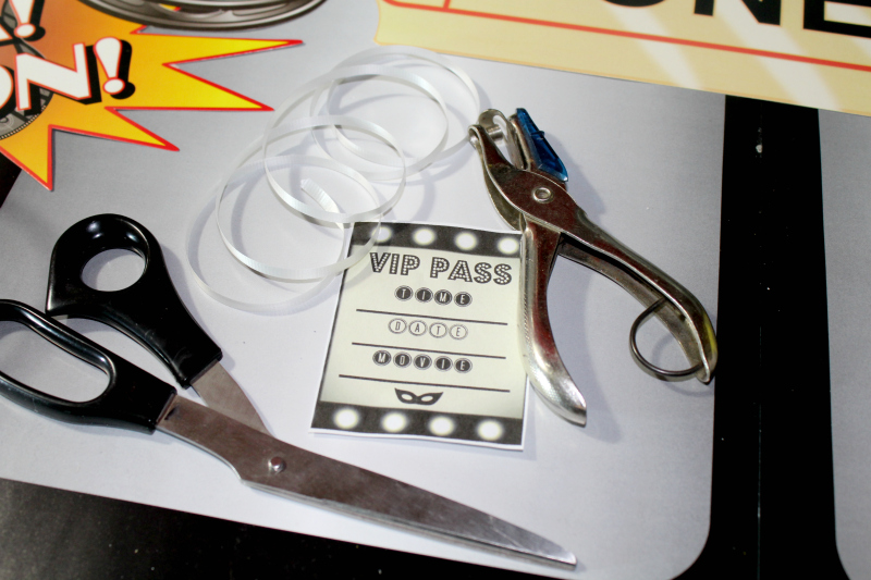 Movie VIP Pass DIY