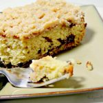 Frosted Cinnamon Coffee Cake with Brown Sugar Filling