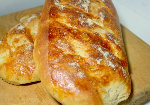 Chewy Italian Bread with a Perfectly Crisp Crust