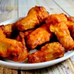 Easy Freezer to Table Buffalo Wings