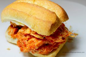Crockpot Chicken Parmesan Subs