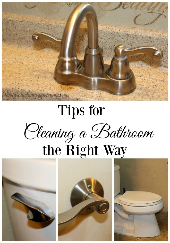 Tips for Cleaning the Bathroom the right way