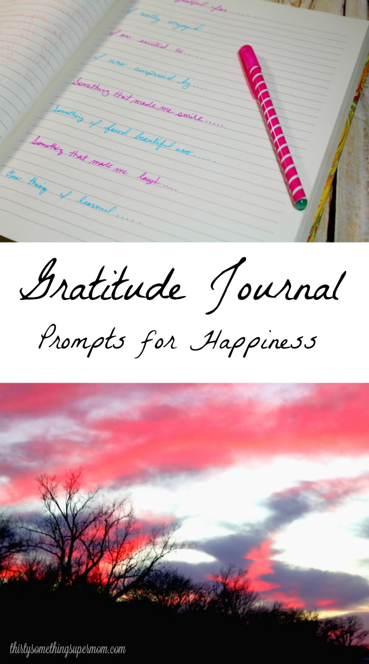 Gratitude Journal Prompts for Happiness