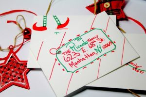 Christmas Greetings Inspiration for Envelopes & Cards