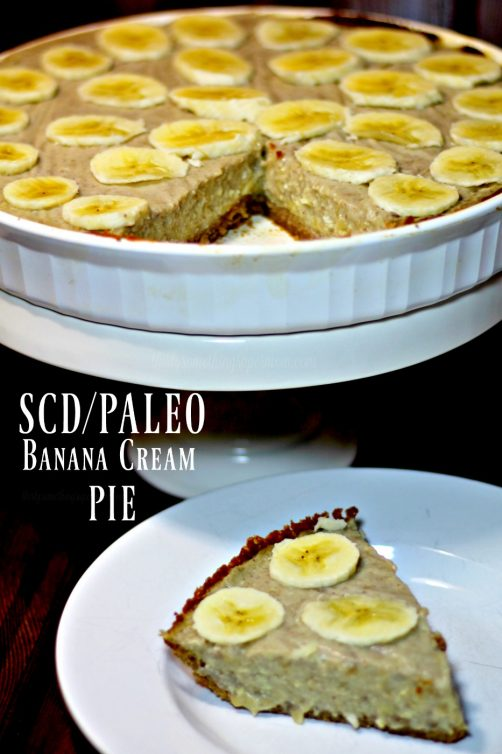 SCD & Paleo Banana Cream Pie