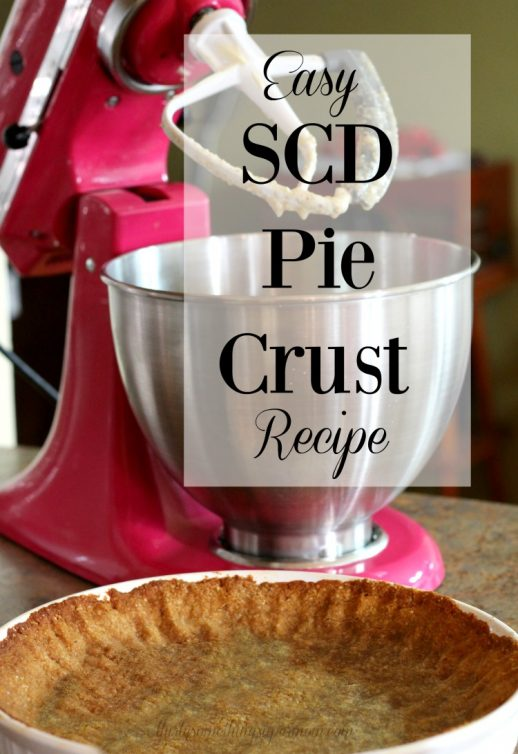 SCD Pie Crust Specific Carbohydrate Diet Gluten Free