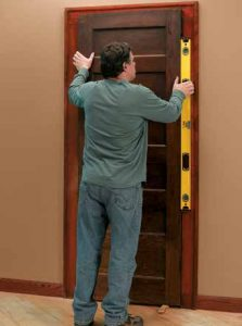 How to Hang a Reclaimed Door in an Existing Jamb