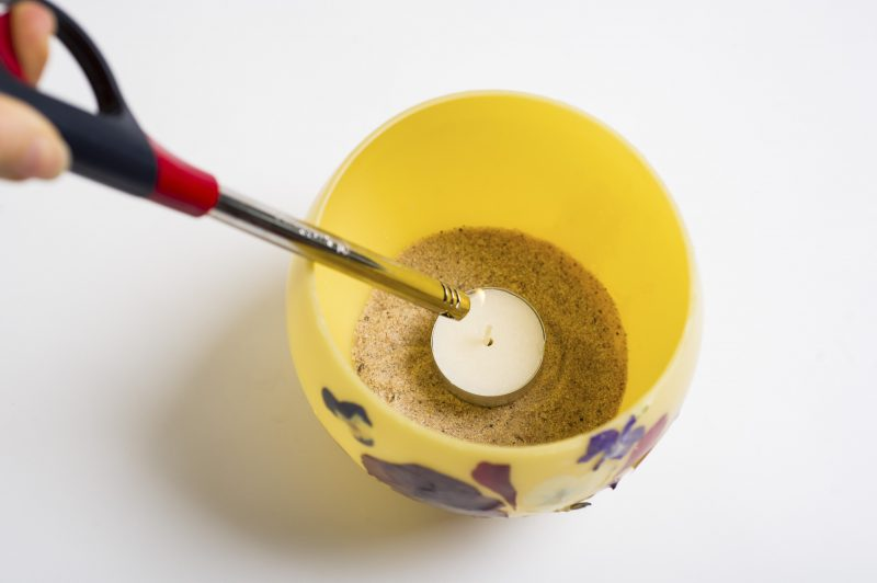 DIY Beeswax Candle Bowls Craft
